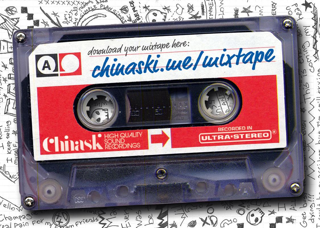 Flyer_Chinaski_Mixtape